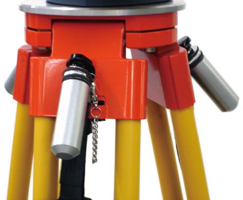 電動トータルステーション用 三脚バランスウエイト