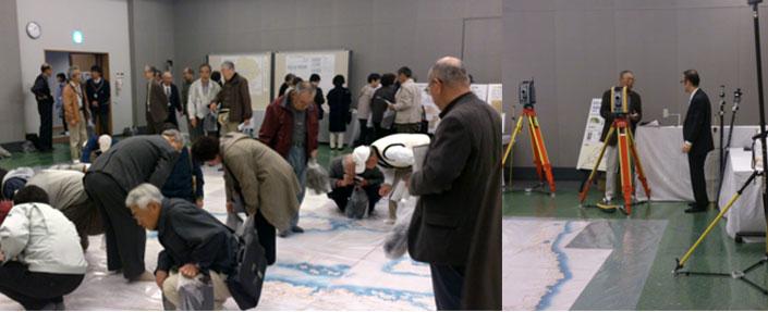 「笹山領測量200年記念 伊能忠敬ミニフロア展」に出展いたしました